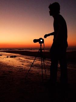Sunset shot in Darwin Australia with Winston Sanders Wedding Photographer