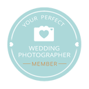 Your Perfect Wedding Photographer Member for London and Essex badge
