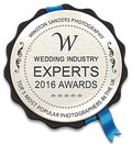 Winner of Best Wedding Photographer Essex Award Top 5