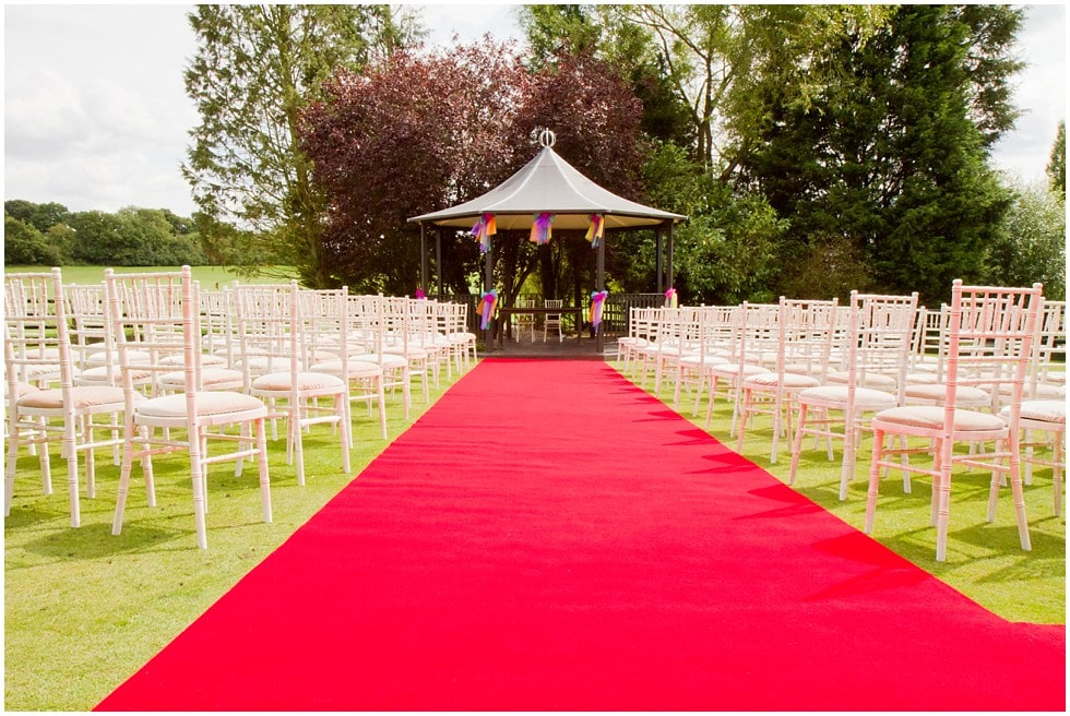 the venue for a gorgeous outdoor wedding
