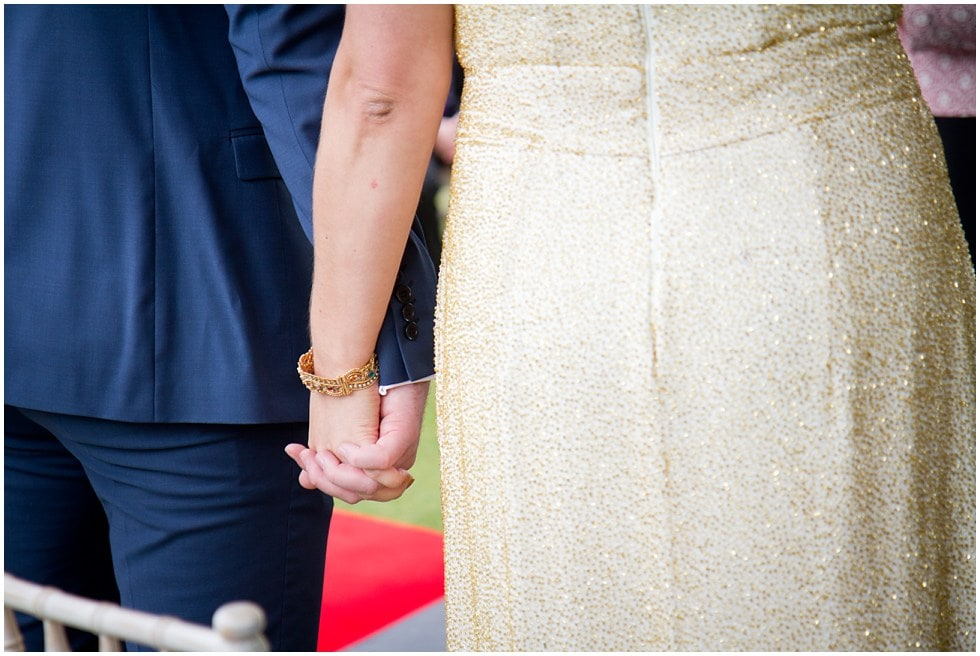 hand holding at an essex wedding photographers dream wedding