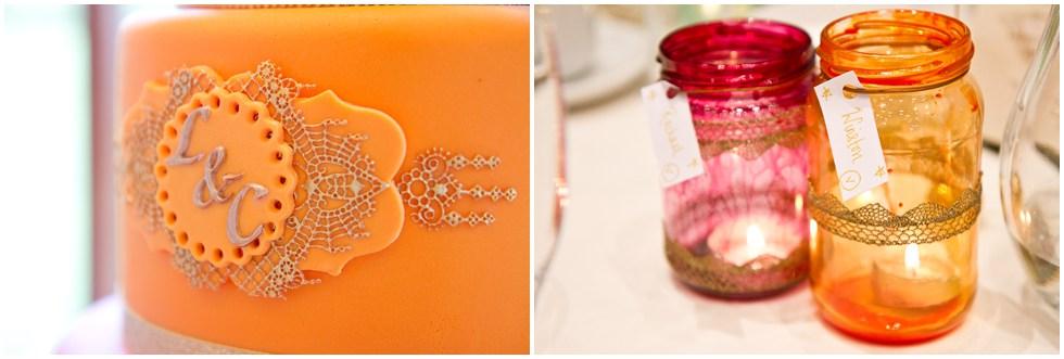 cake and lanterns
