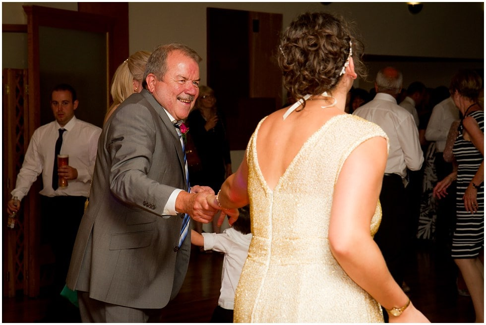 father and bride dance off at the three rivers golf and country club cold norton