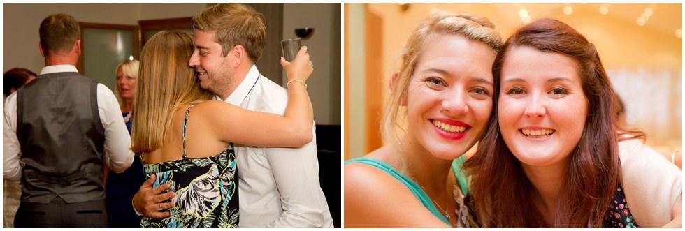 wedding reception fun times