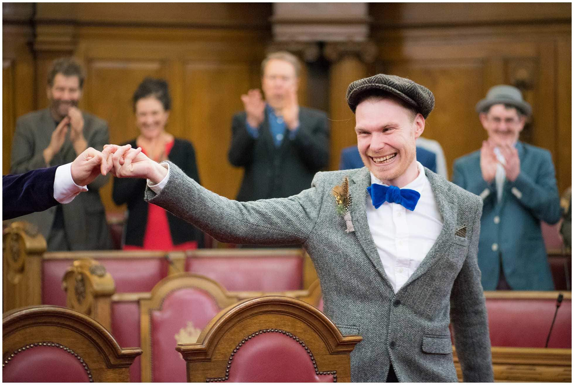 gay wedding photography islington town hall