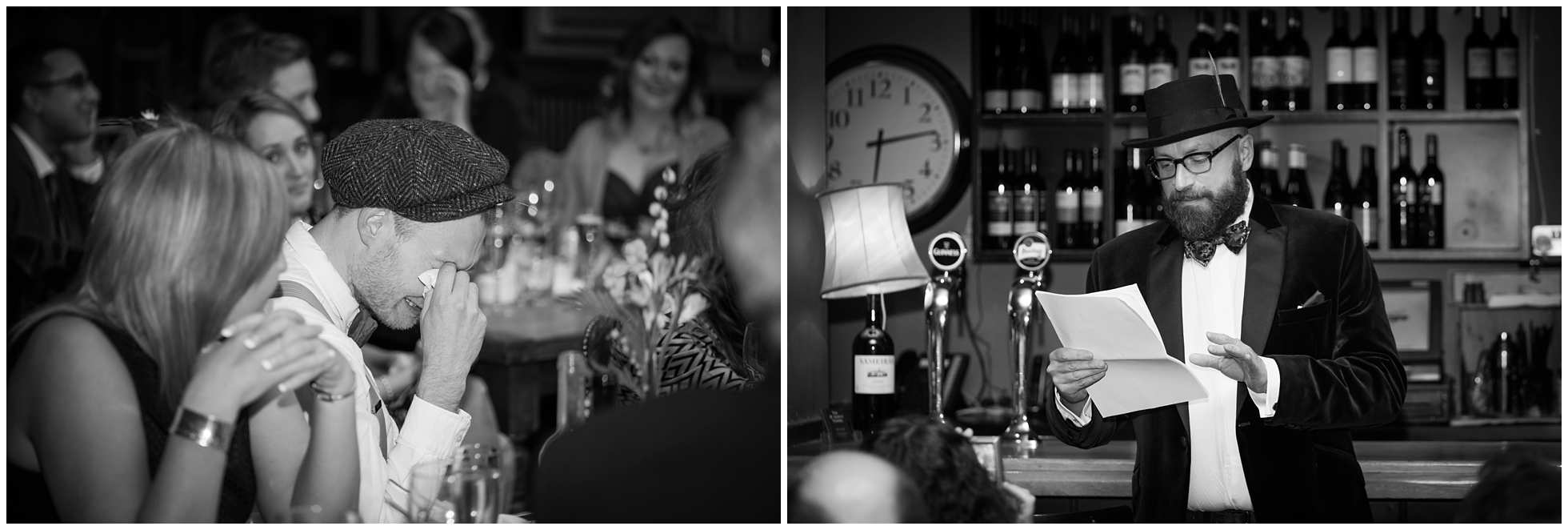 The speeches, the tears st johns tavern junction road london wedding photographer
