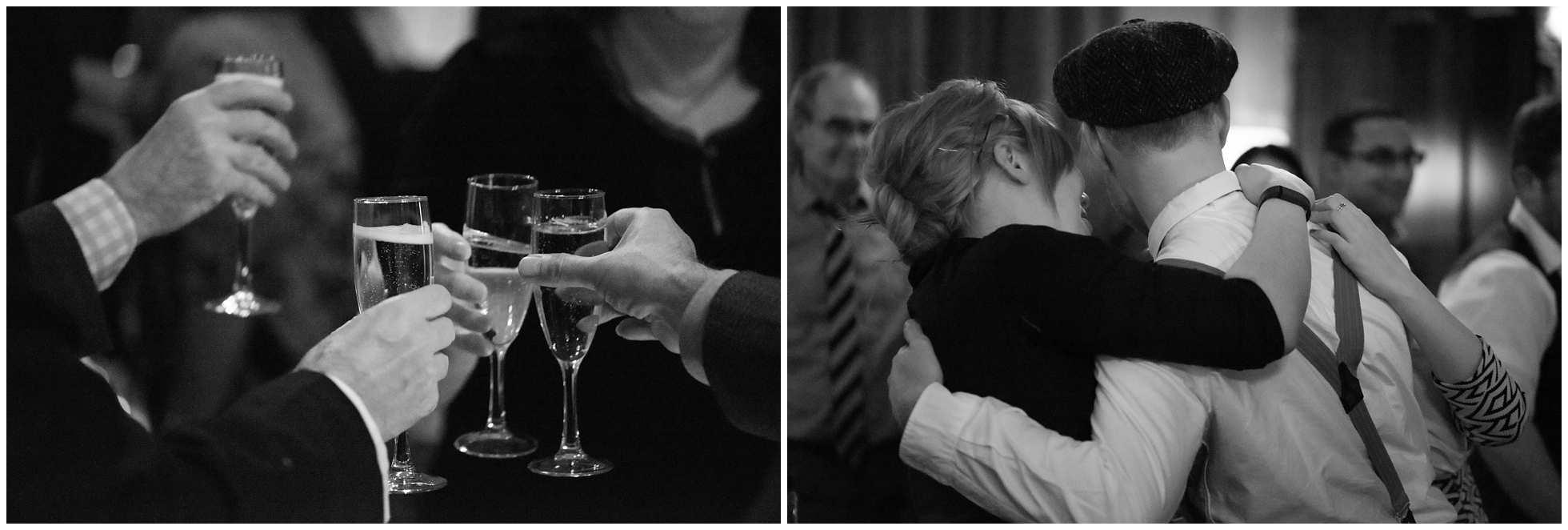 the toasts, the tears london wedding