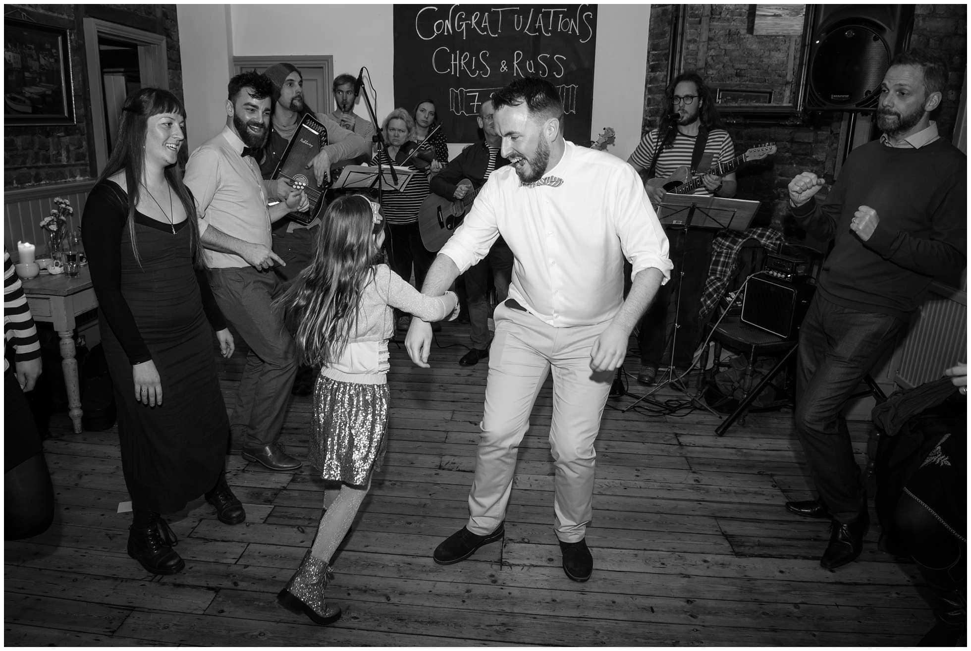 ceilidh london wedding photographer