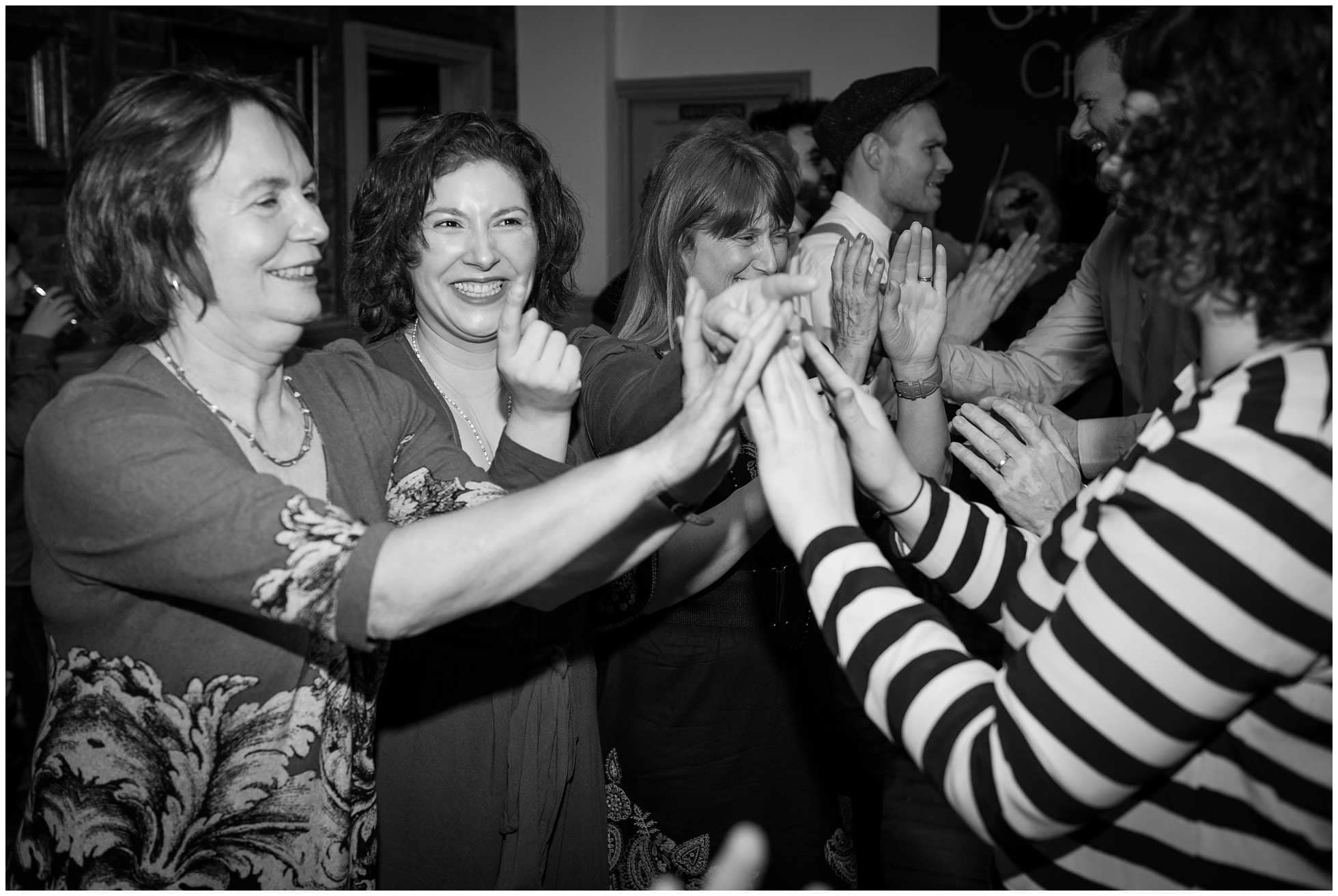 ceilidh dancing fun with the girls