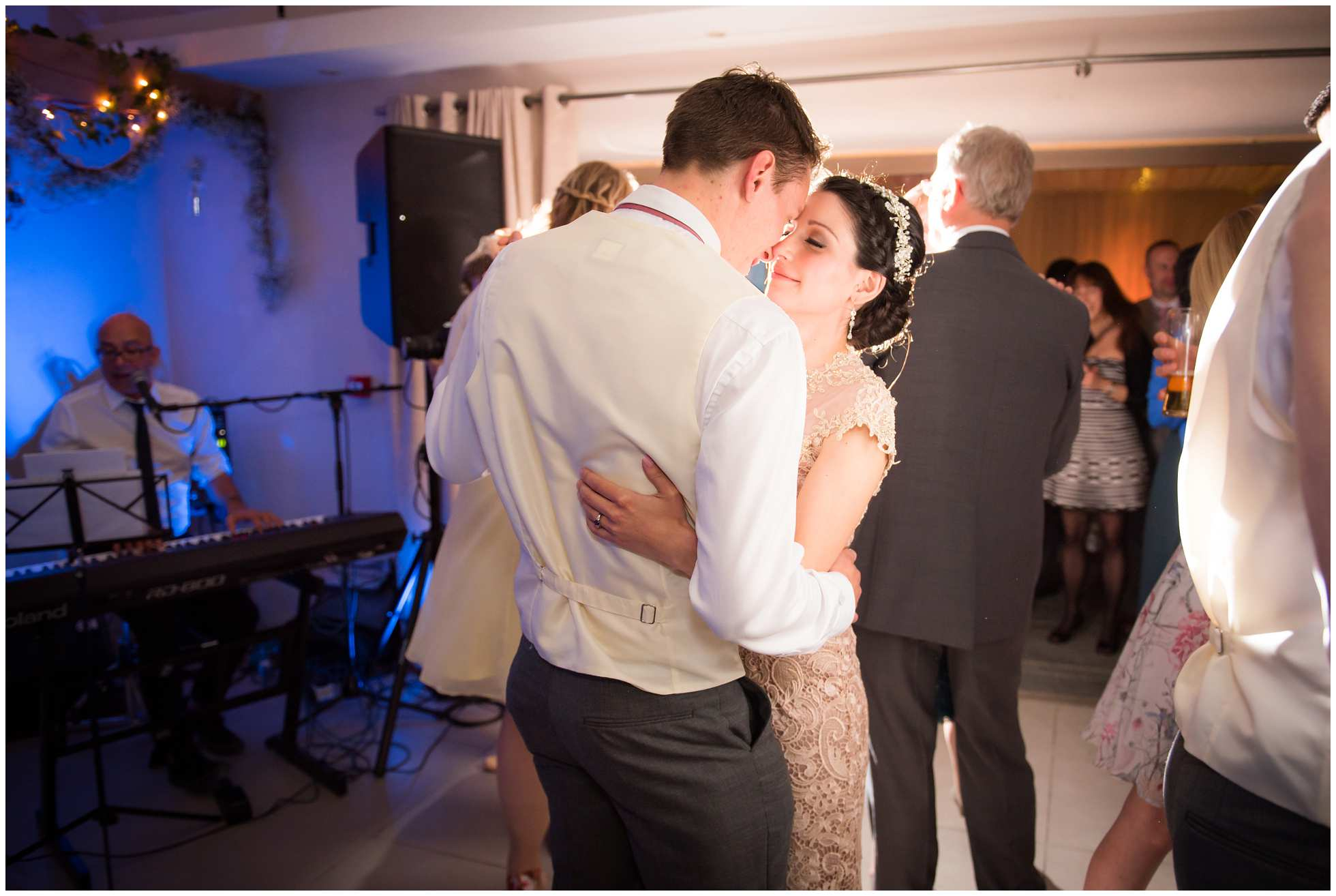 First dance at Trevena Cornwall Wedding Photography