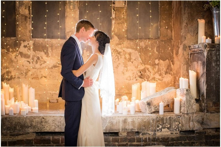 The newly weds after their wedding at the Asylum Chapel, Peckham London by Winston Sanders Wedding Photographer