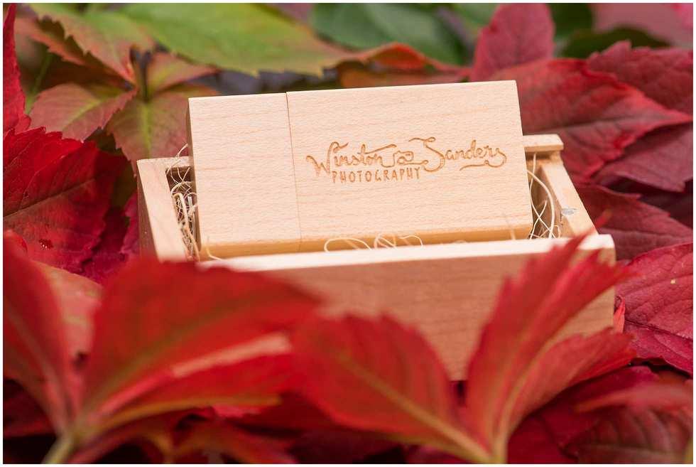 Winston Sanders wedding photography memory stick 2