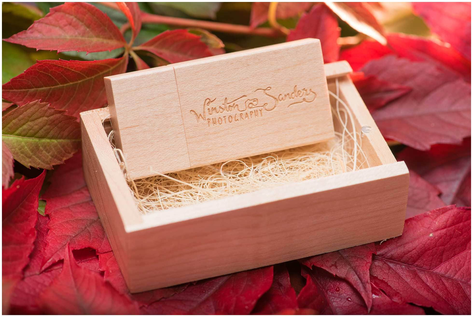 Wooden wedding photography USB stick 4