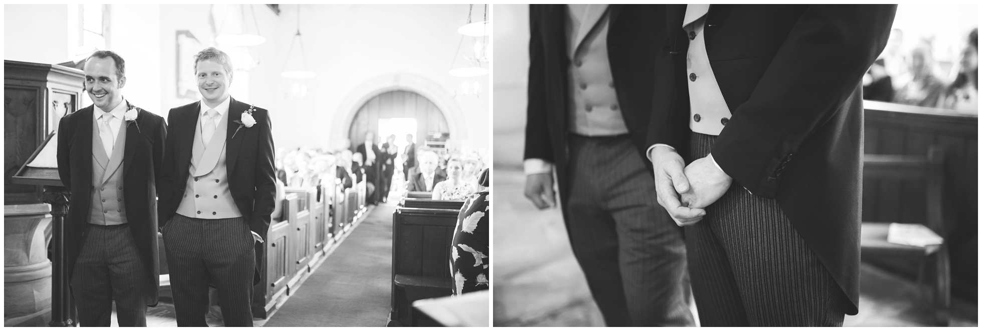 The groom at Ranby church