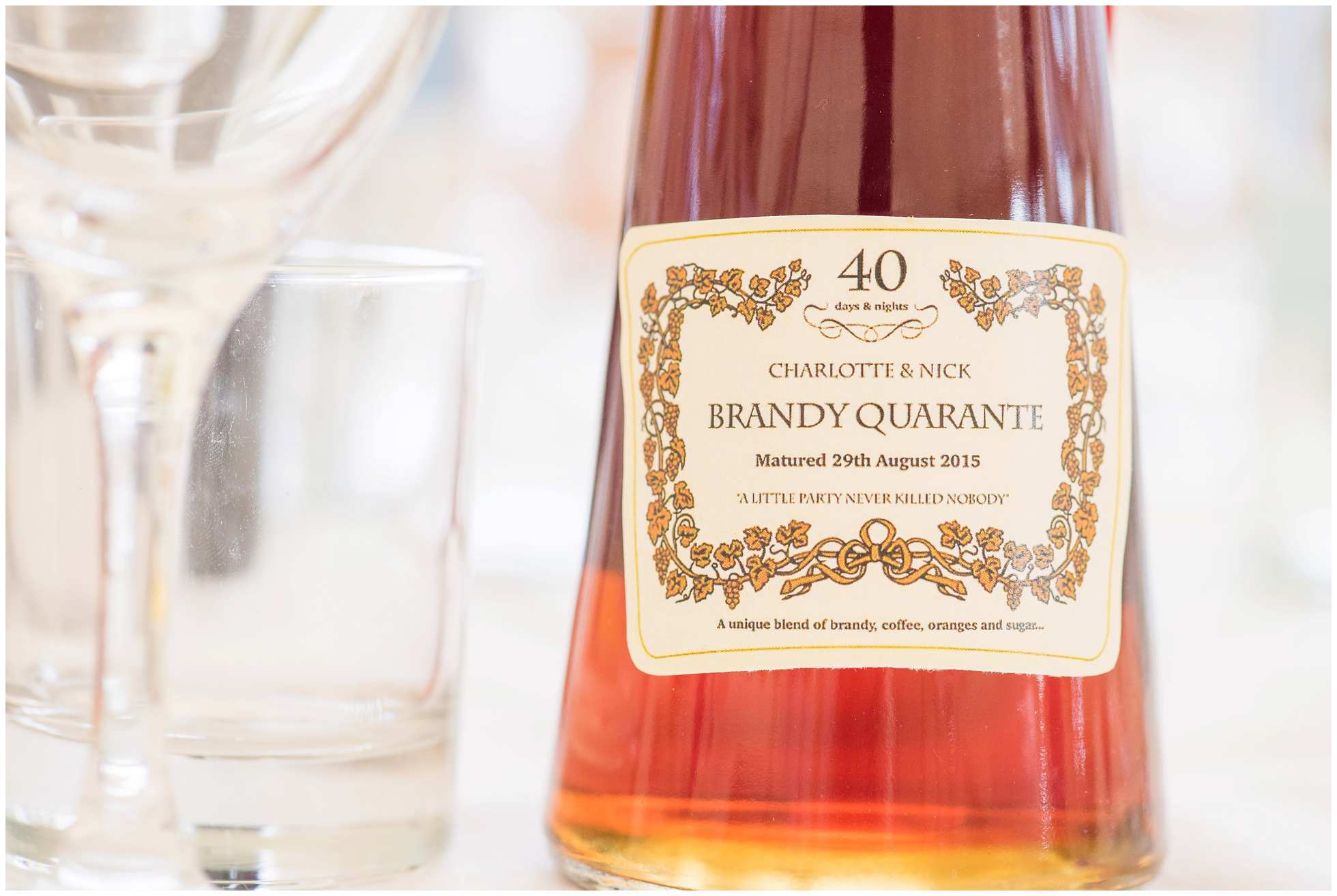 Brandy for the wedding