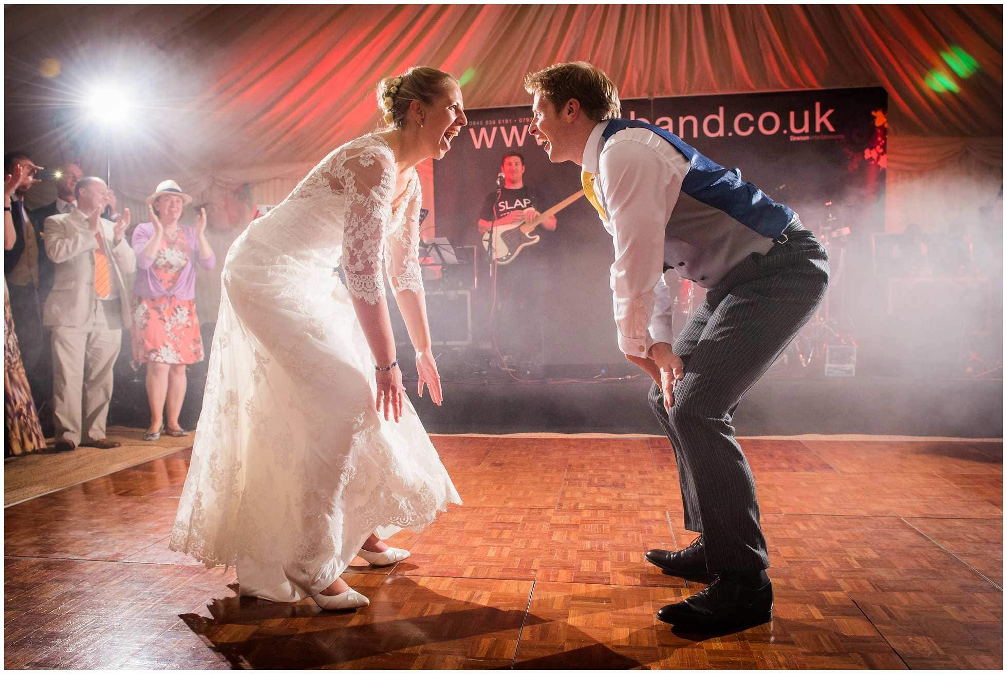 1st dance routine at a lincolnshire wedding