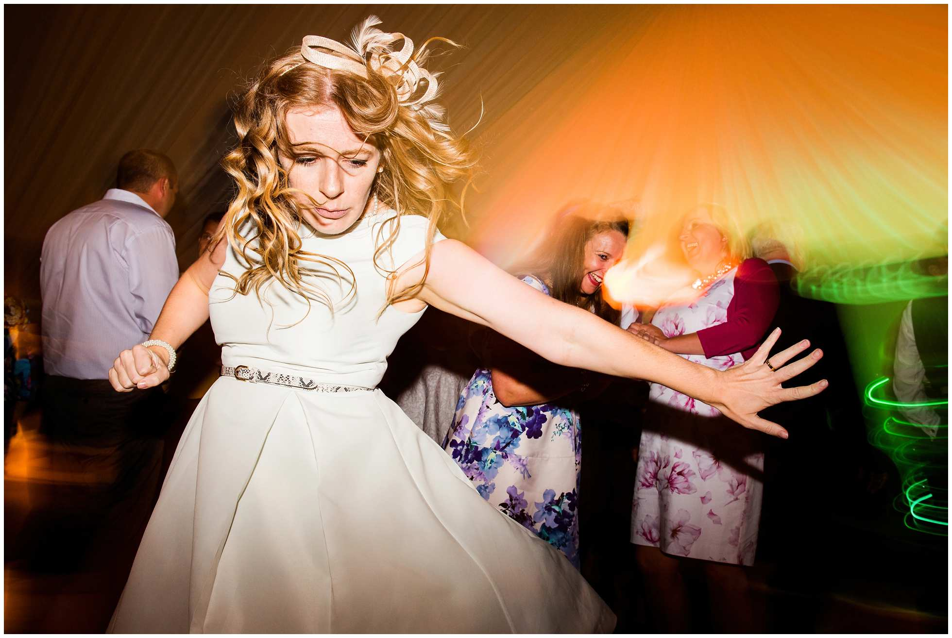 Impressive dancing at this Ranby, Lincolnshire wedding