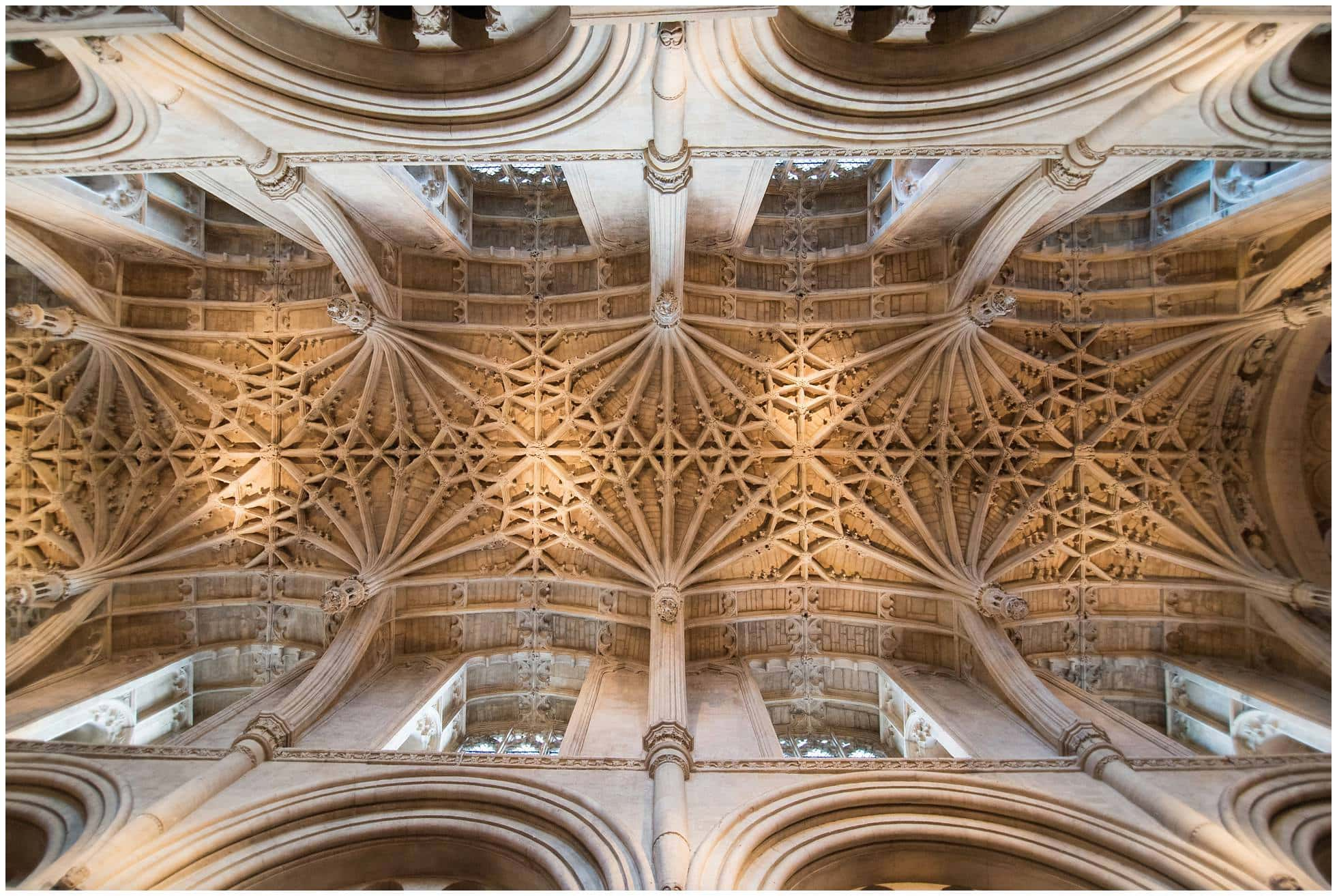 Christ Church College Cathedral roof