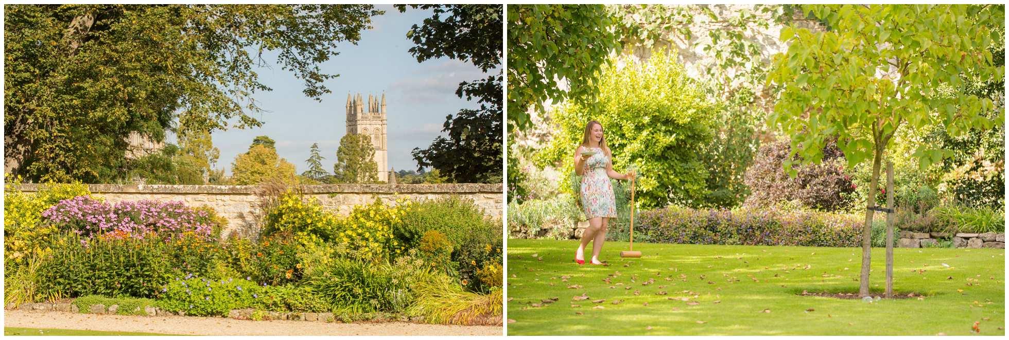 Pretty Oxford gardens