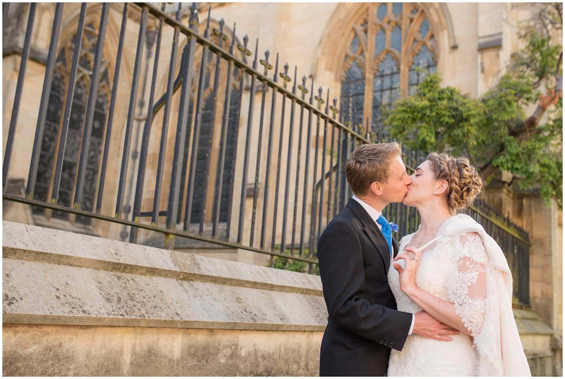 Oxford University city walk wedding photography