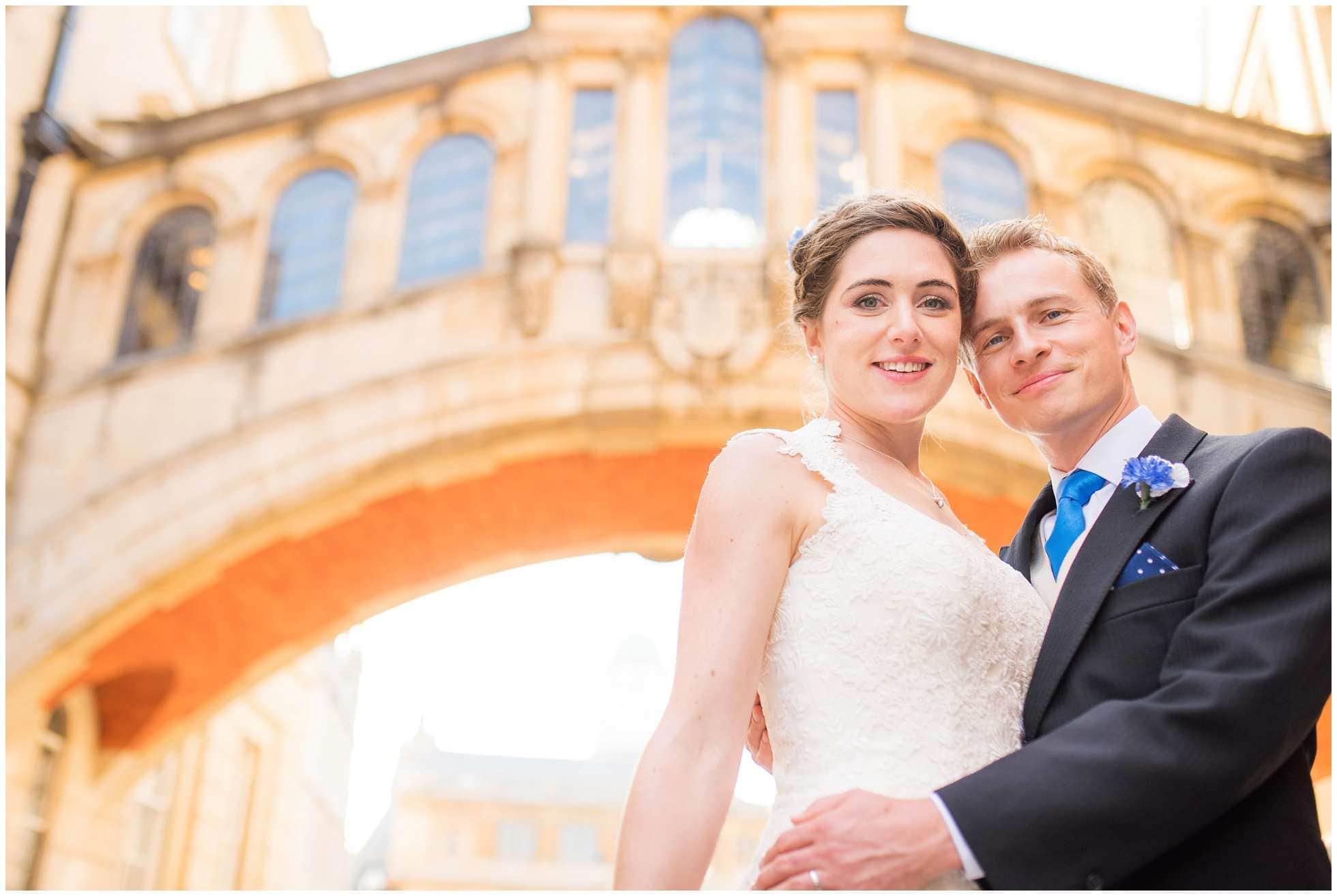 Bridge of Sighs Oxford Wedding Photography