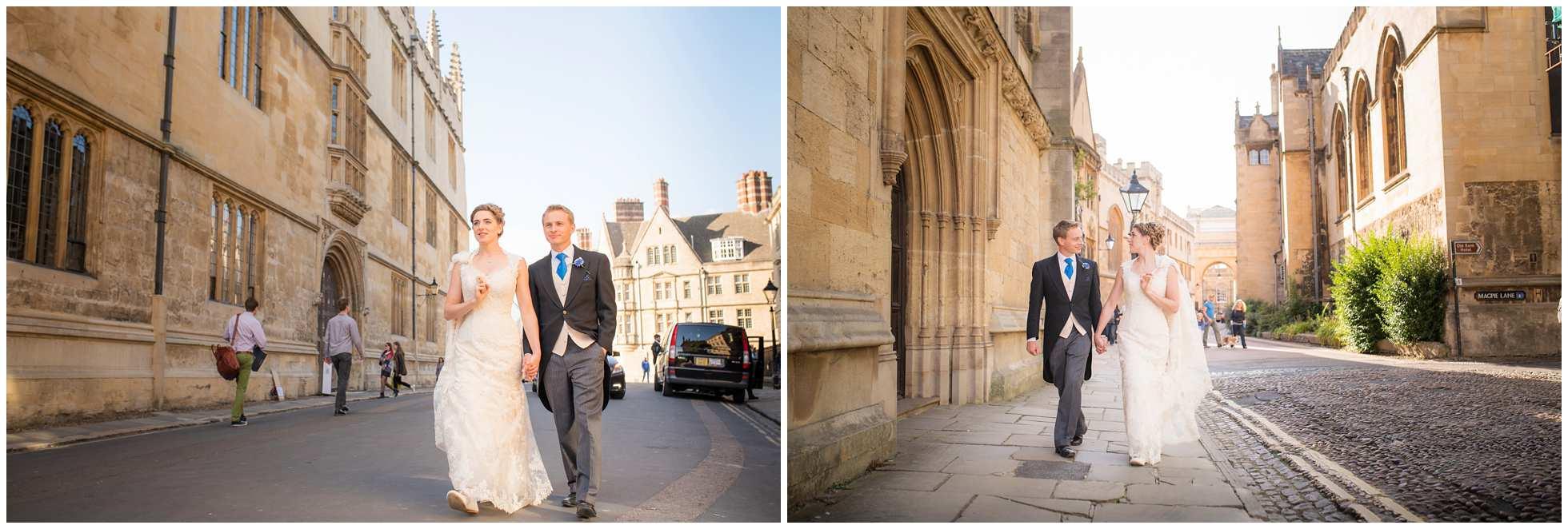 Clandestine walk through Oxford