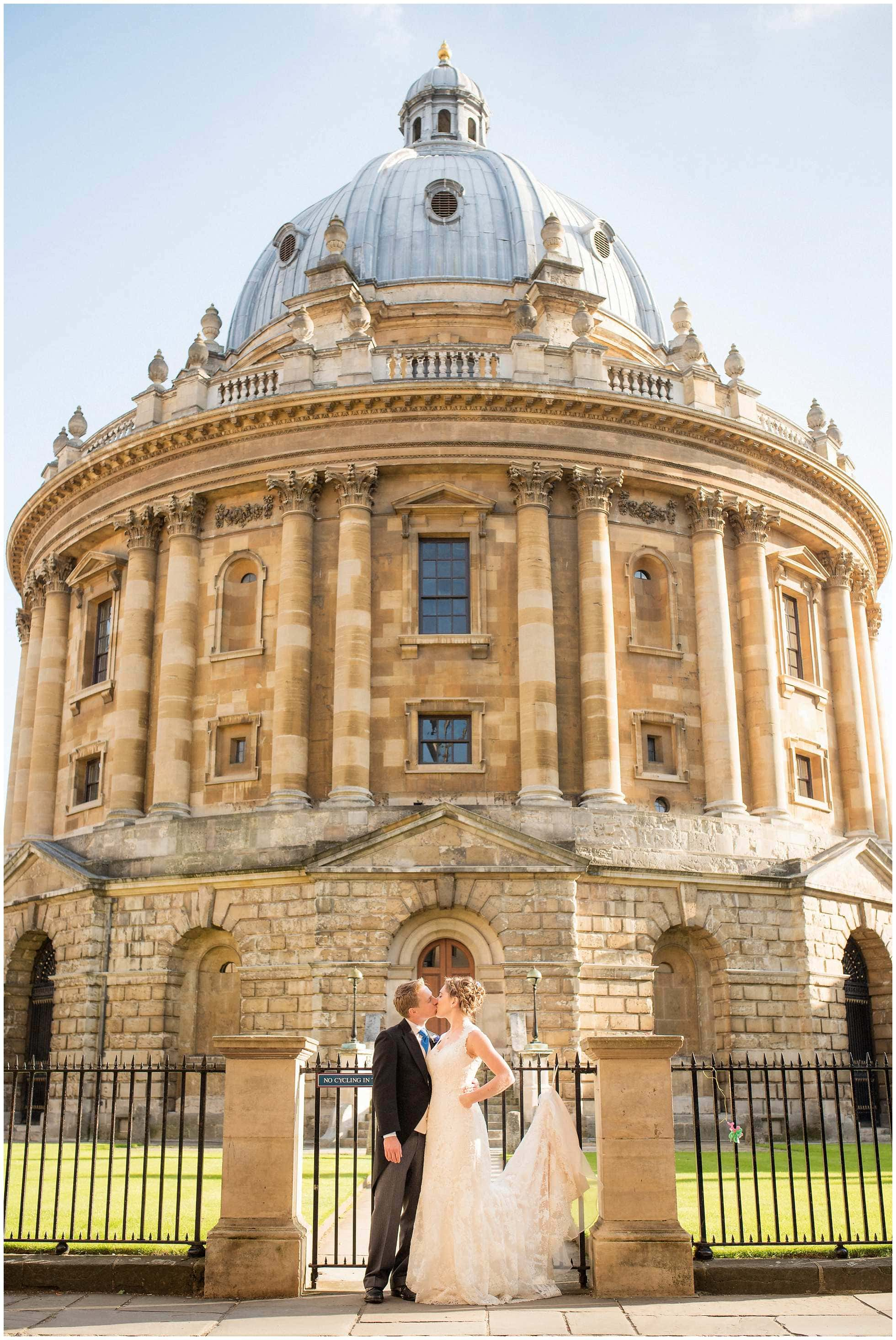 Radcliffe Camera Wedding Photography