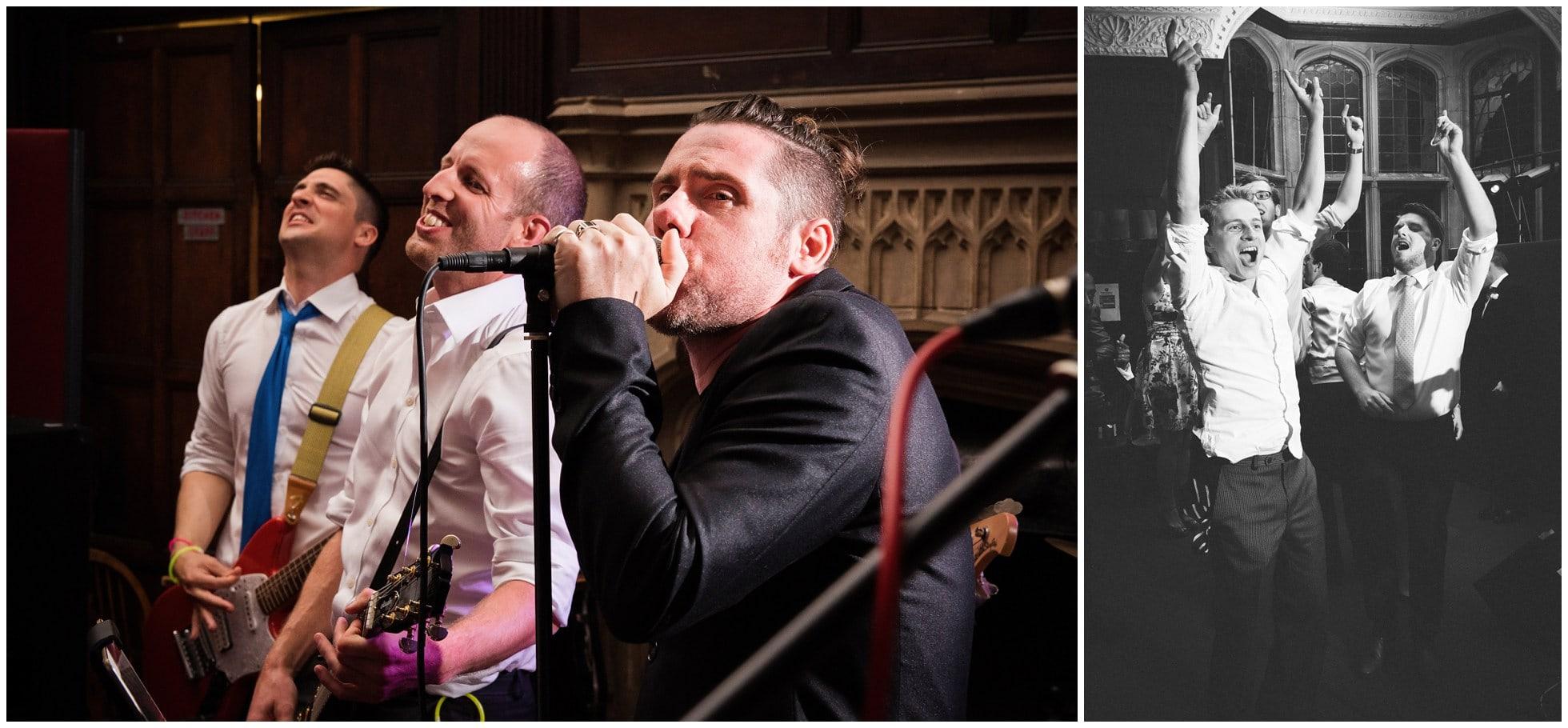 Oxford Wedding Band rocking Oxford Union