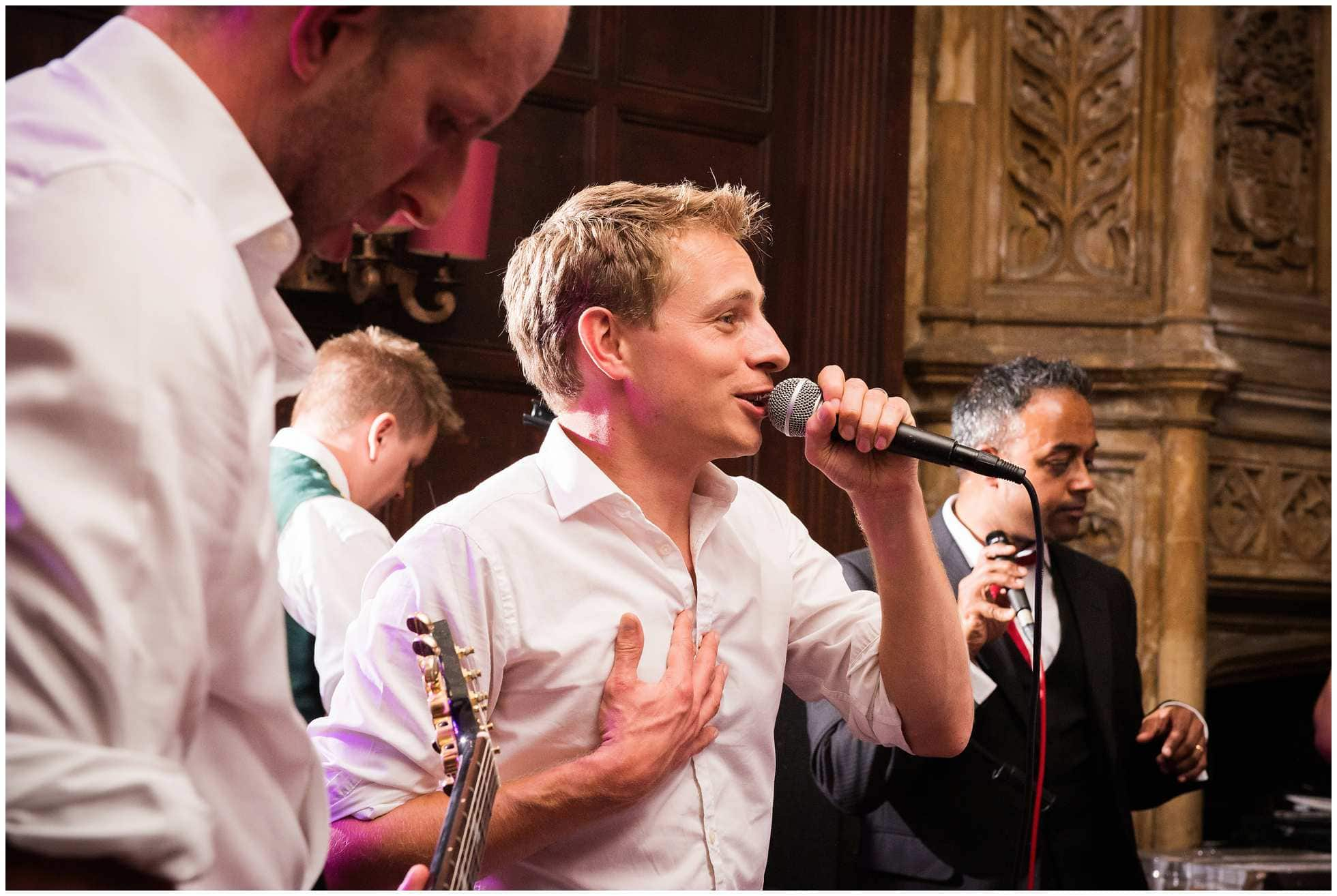 the singing oxford union groom