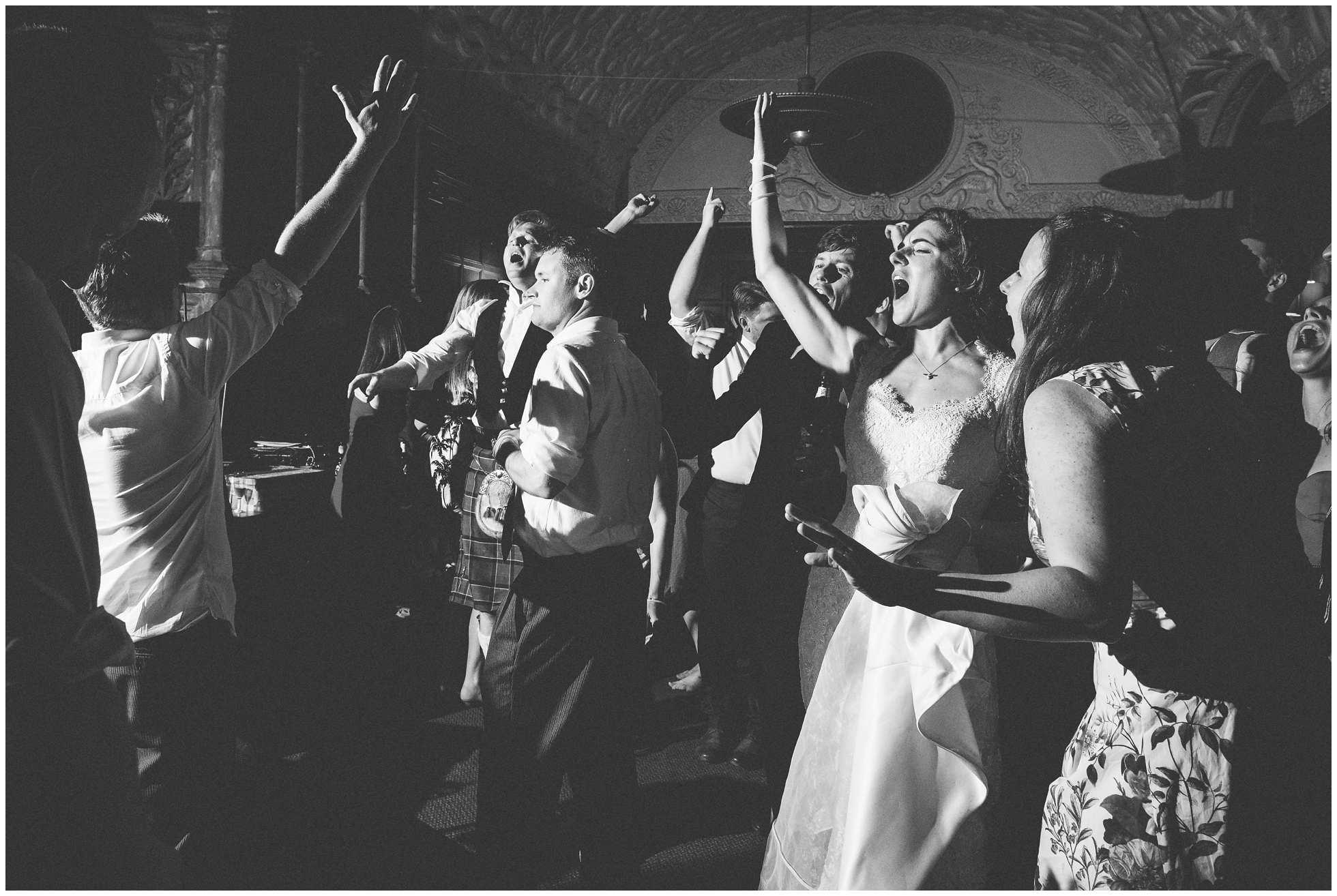 Rock n Roll sing a long at wedding photographer's dream wedding!
