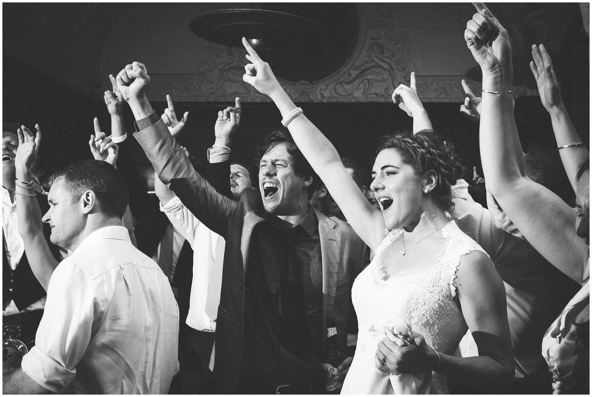 Singing bride in Oxford