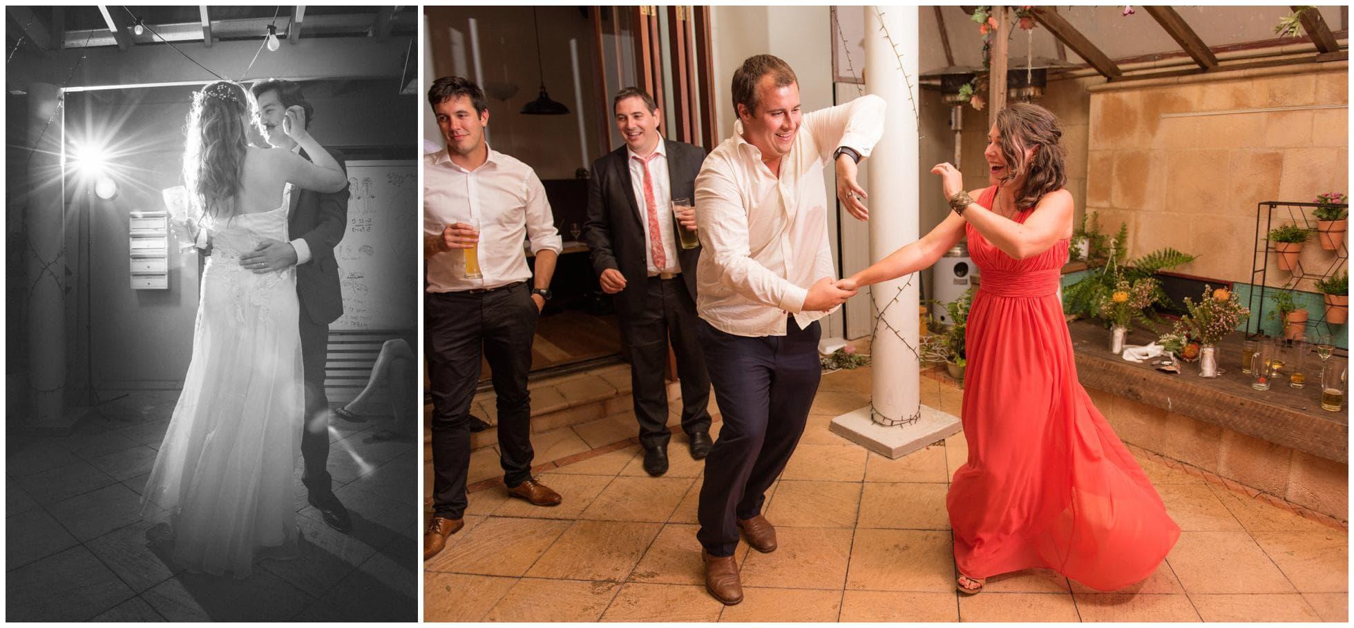 First dance at Das Bierhaus, Mona Vale Wedding