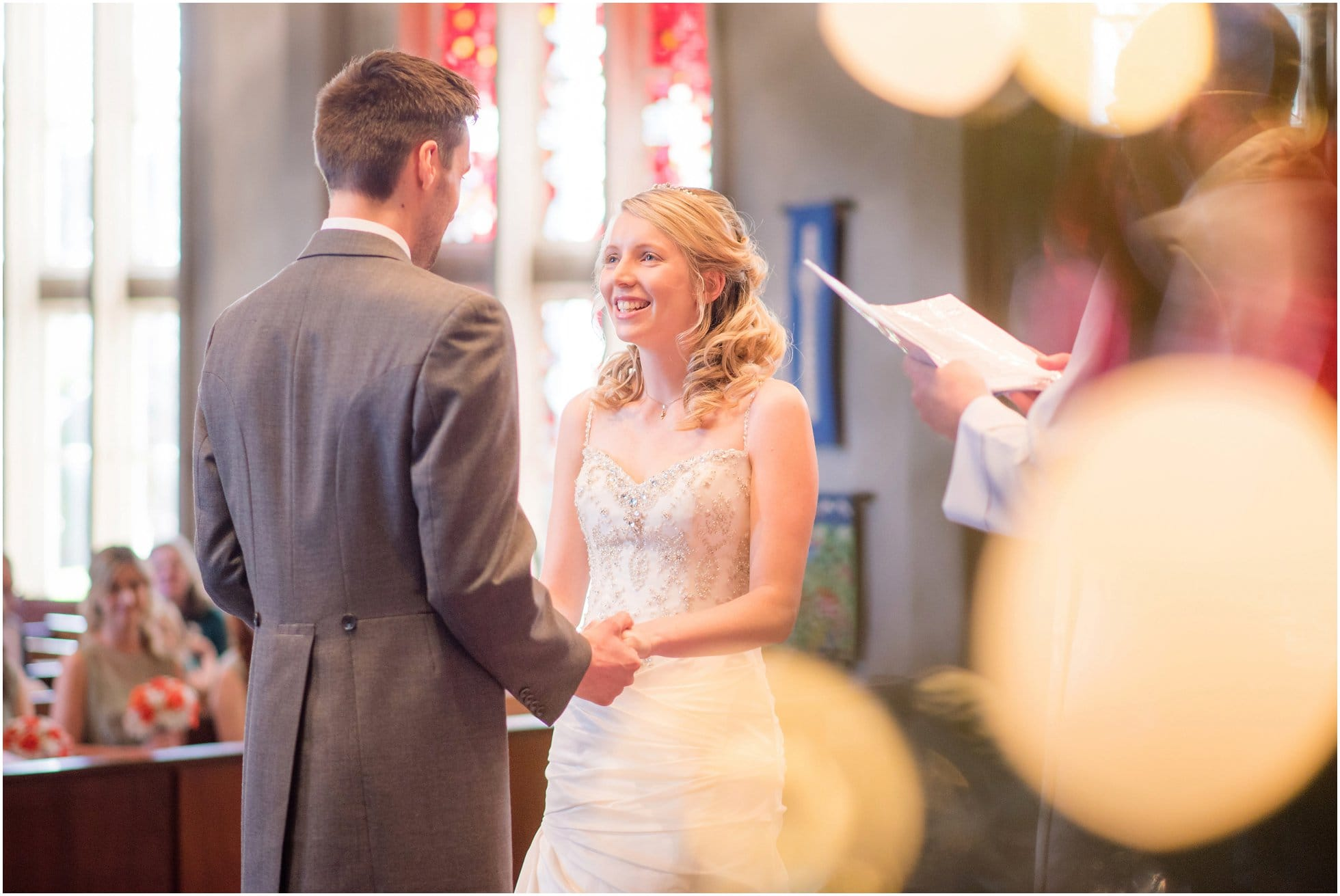 Birstall Church Wedding photography by Winston Sanders - the vows