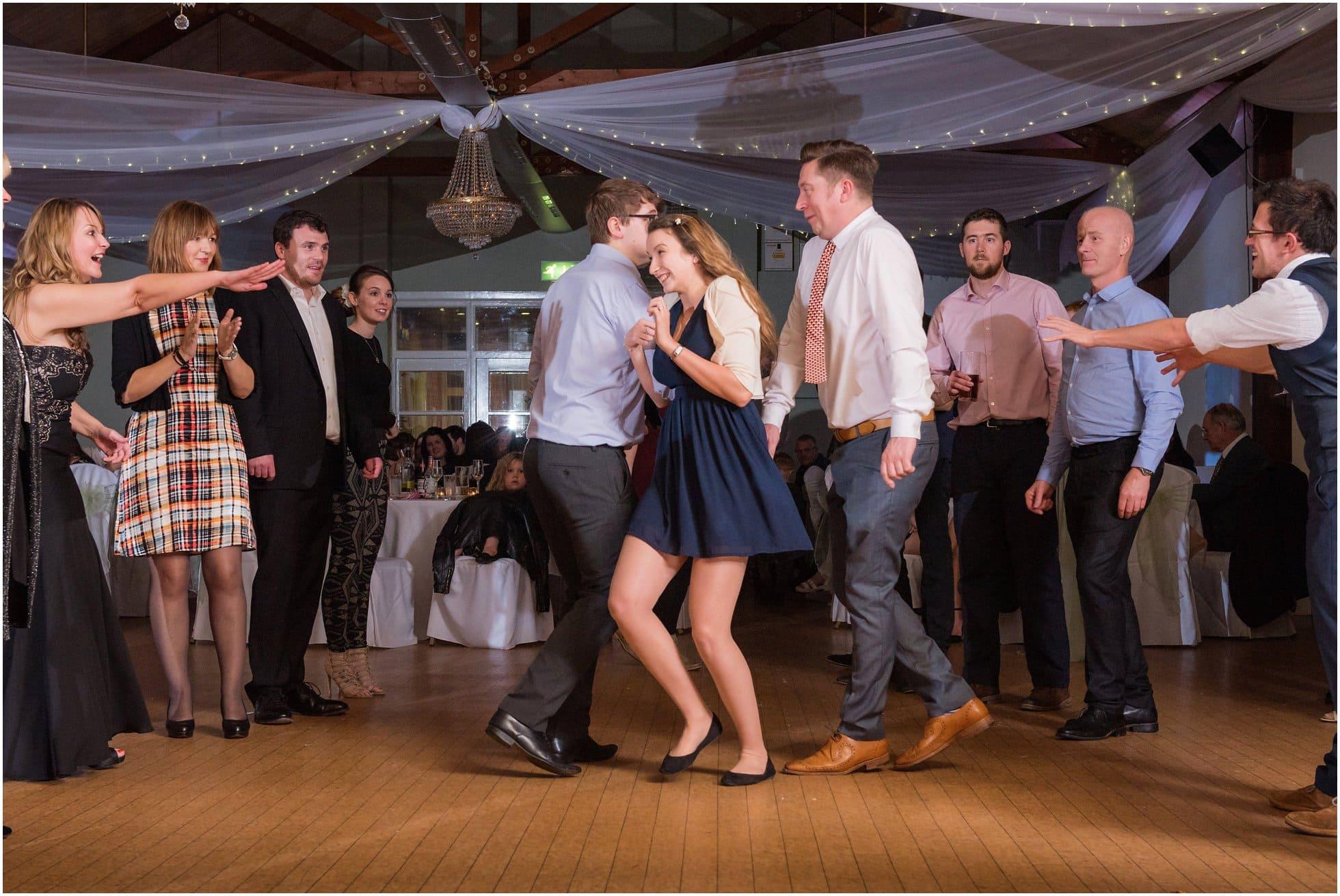 Dancing fun: which way do we go?
