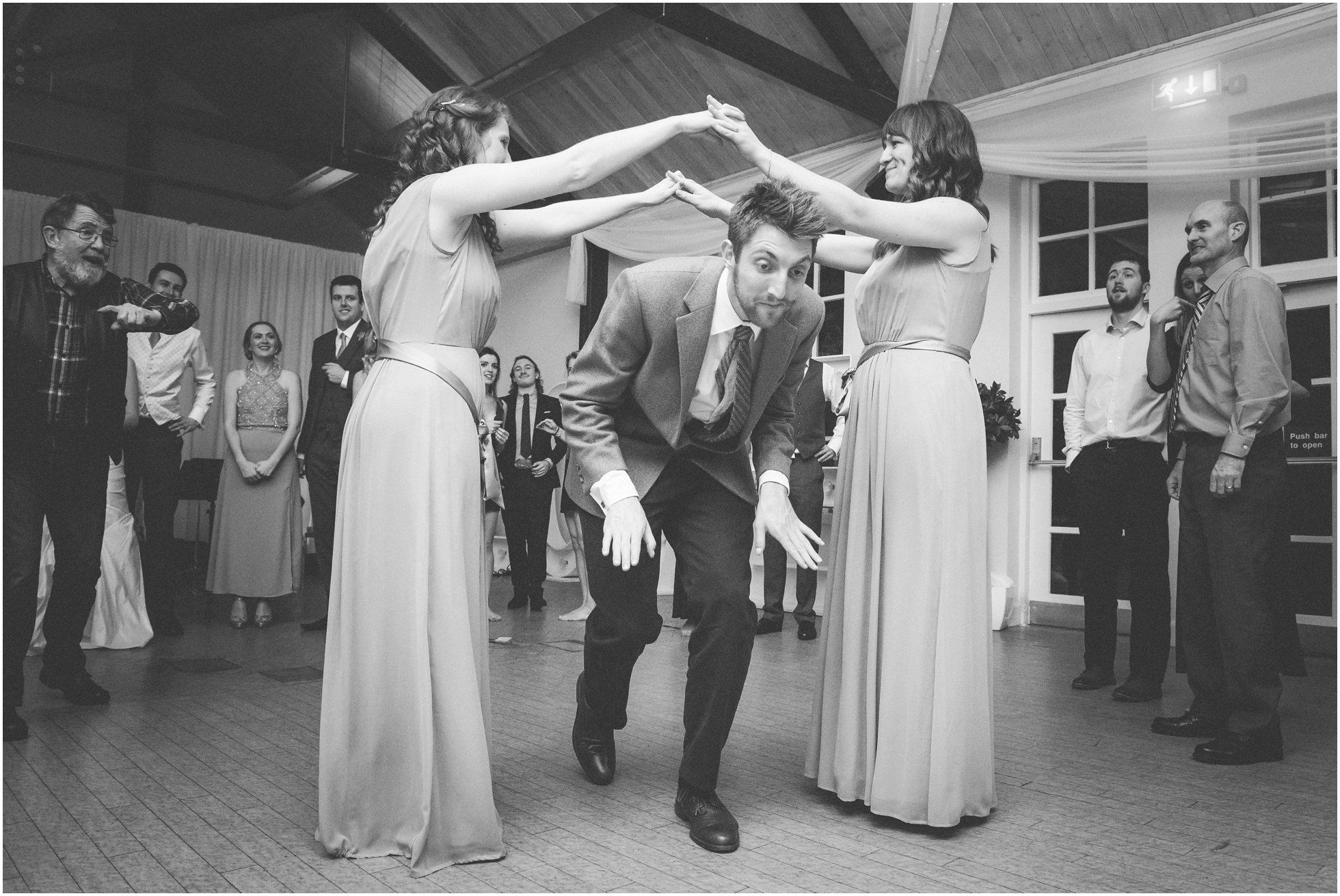 Wedding ceilidh fun!