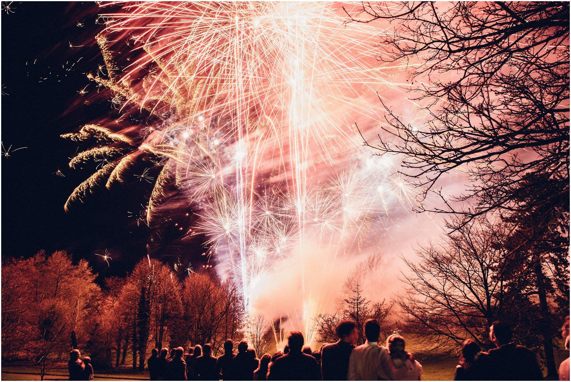 Fireworks spectacular at Brooksby Hall
