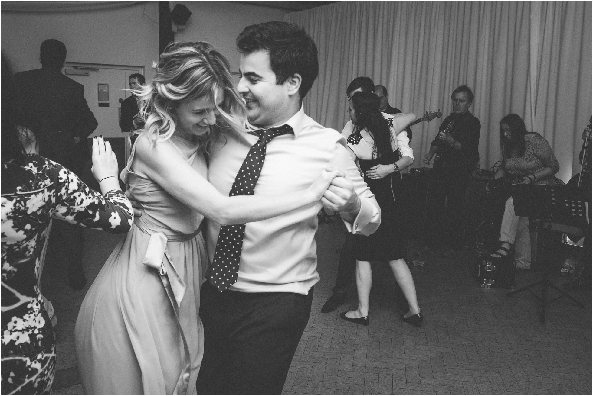 Reportage dancing fun at an awesome Brooksby Hall wedding