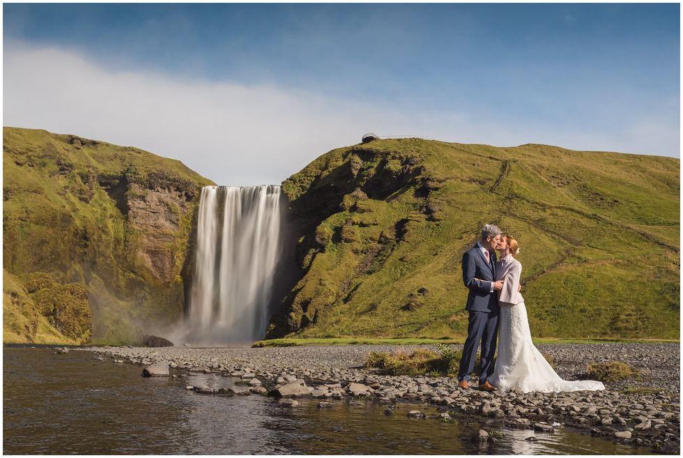 Skogafoss Iceland Wedding Photography