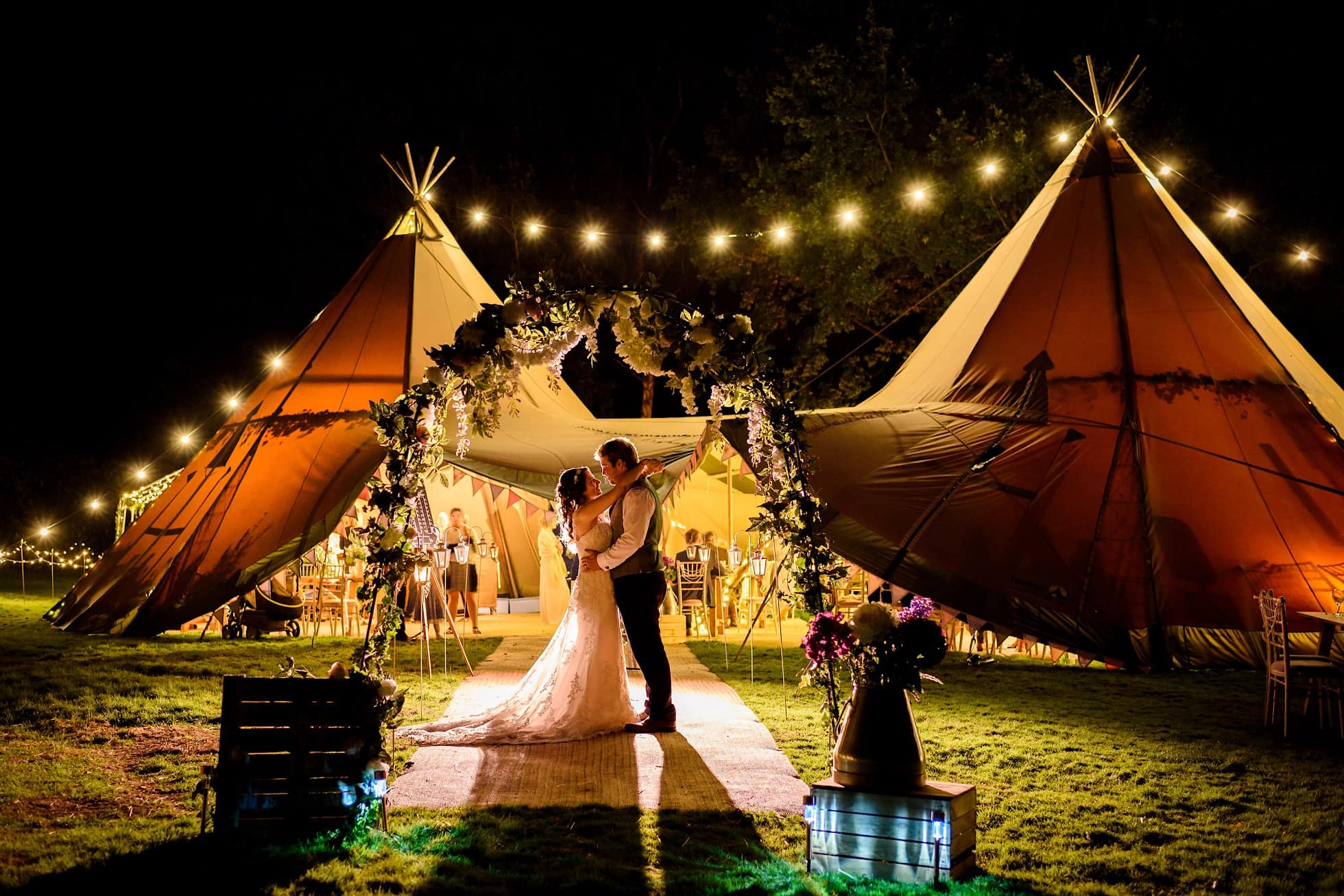 Norfolk Tipi Wedding Photographer