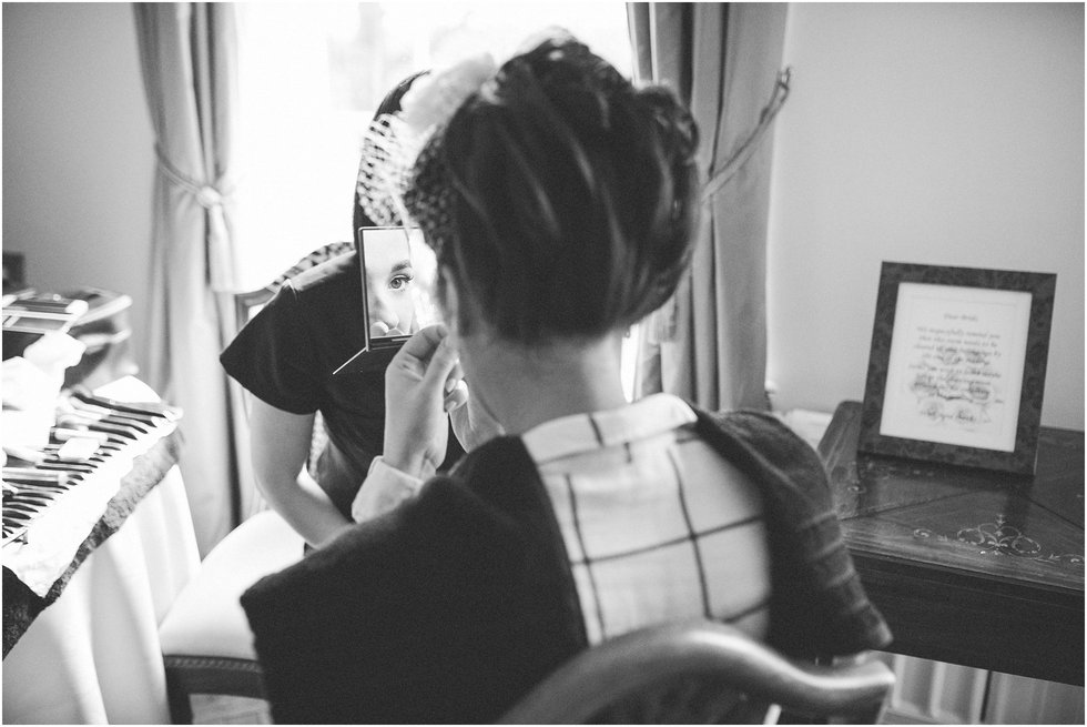 Classic mirror shot