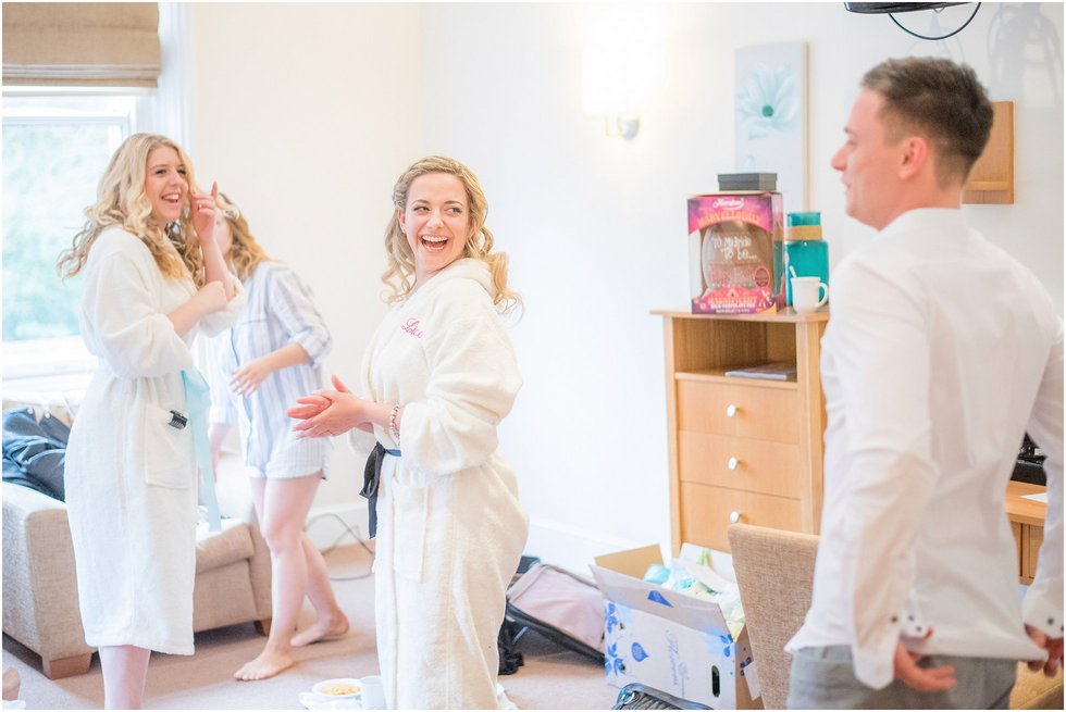 Laughter at this Hertforshire Wedding Photographer