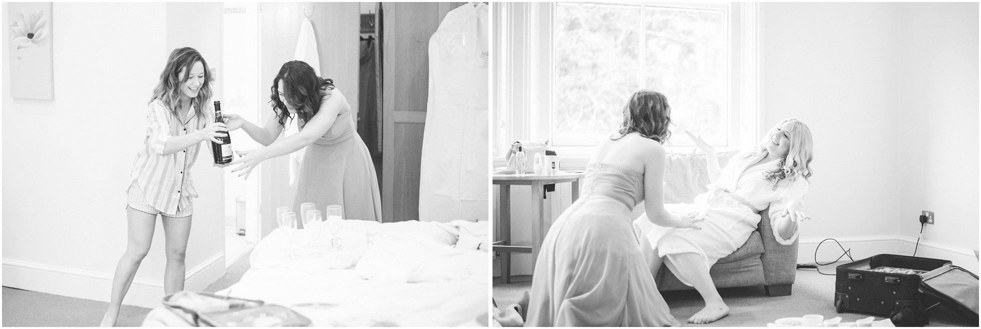 Bridesmaids creating havoc!