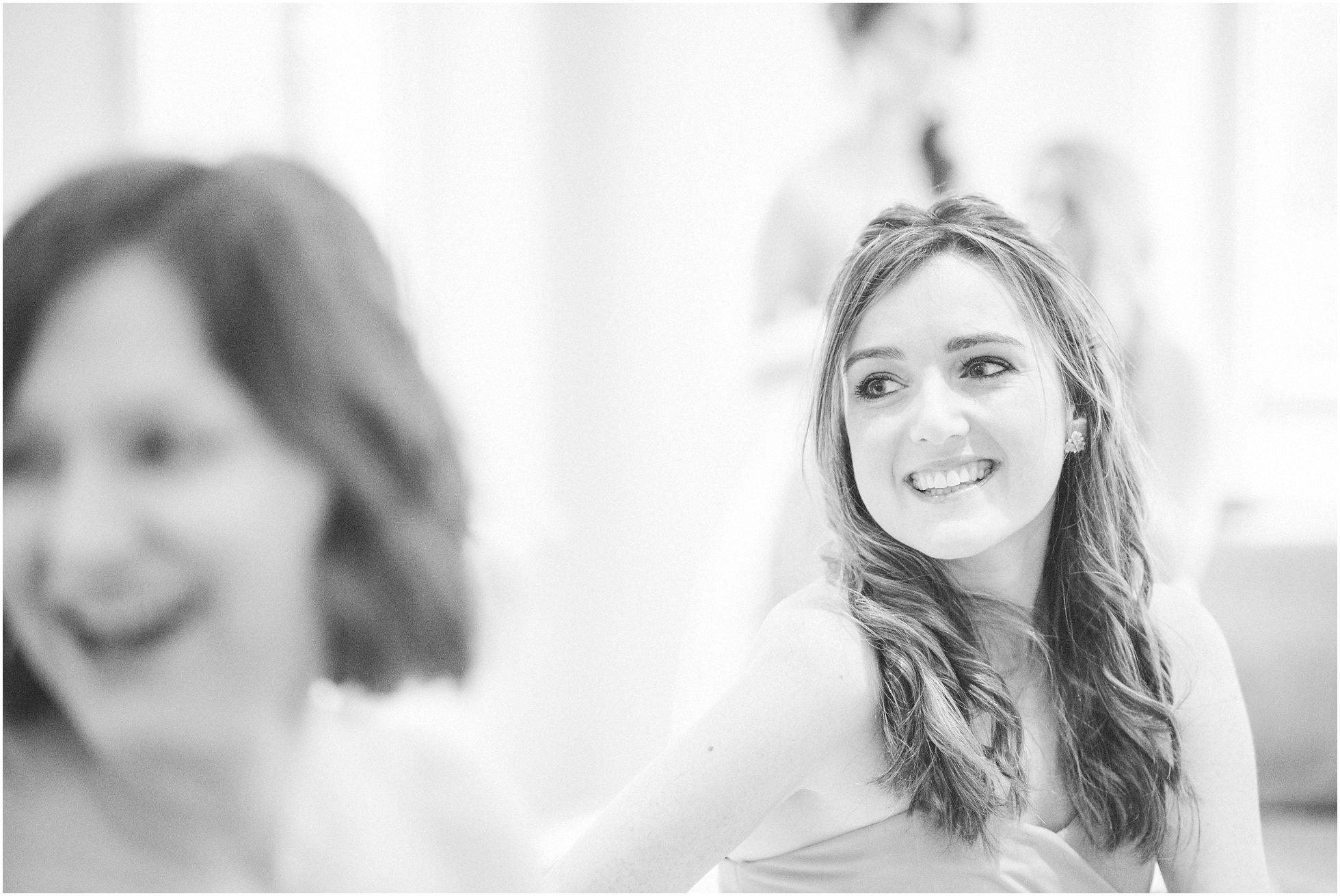 Bridesmaid pretty smile