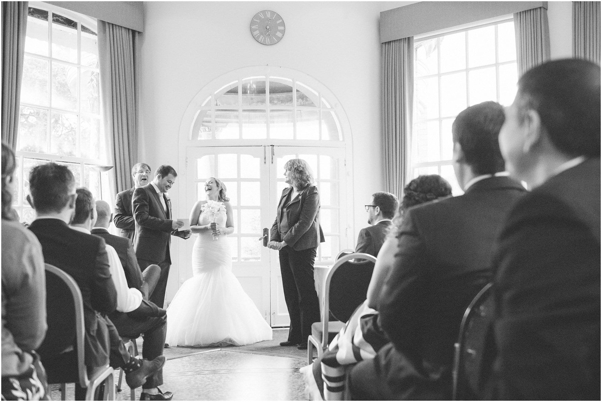 At the end of the ceremony