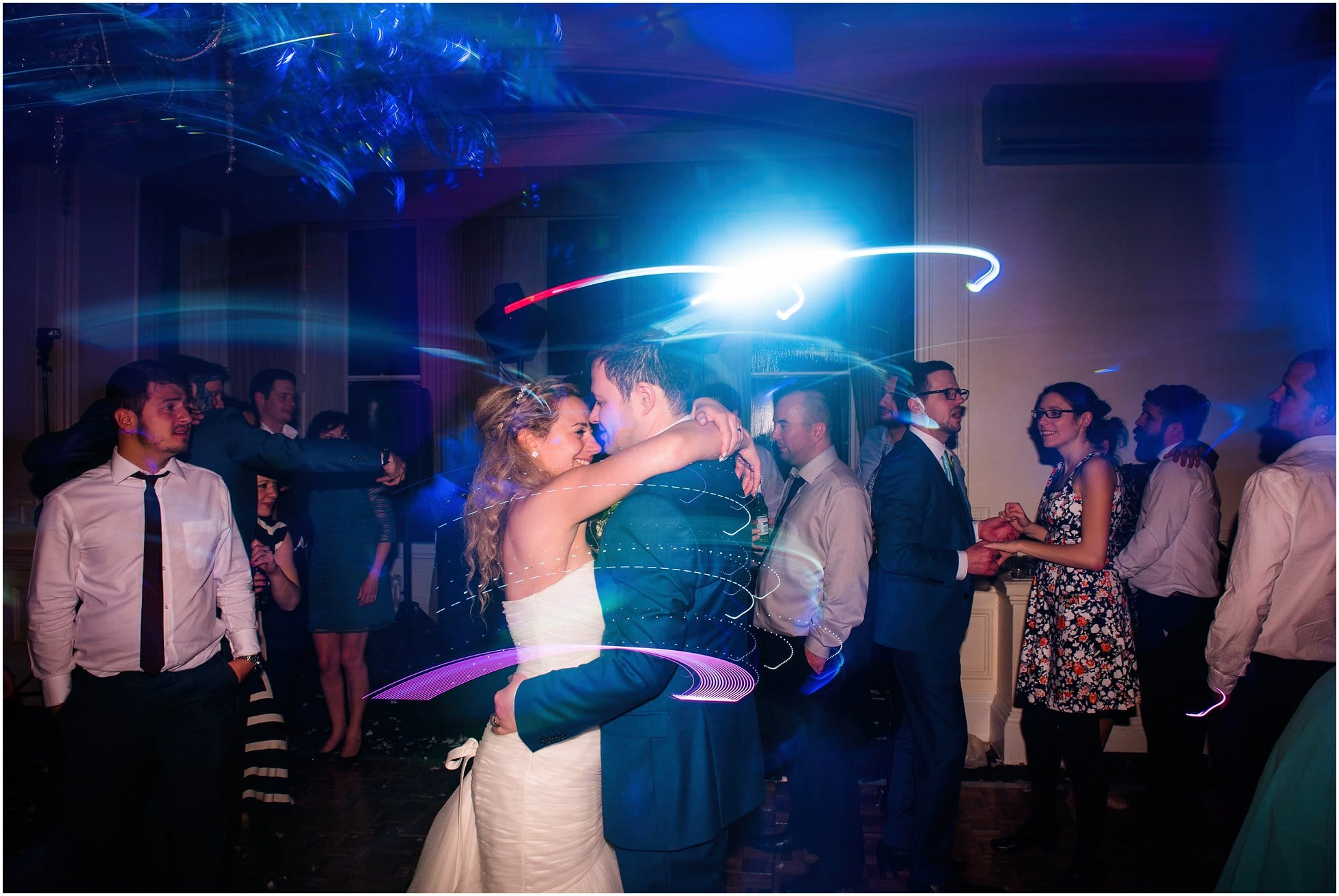 bride and groom and their magical dance!