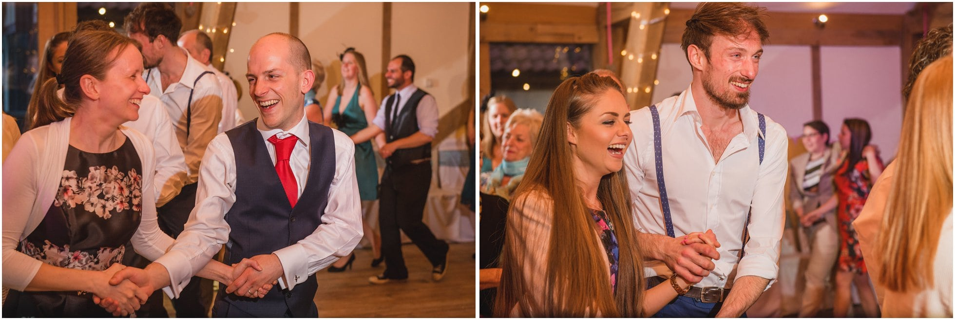 Dancefloor fun at Sandburn Hall