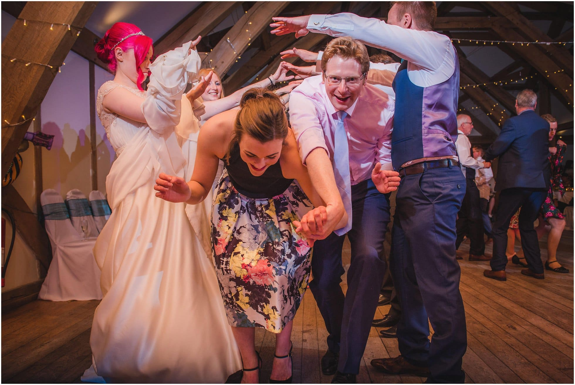 The Monster Ceilidh Band at an amazing York wedding