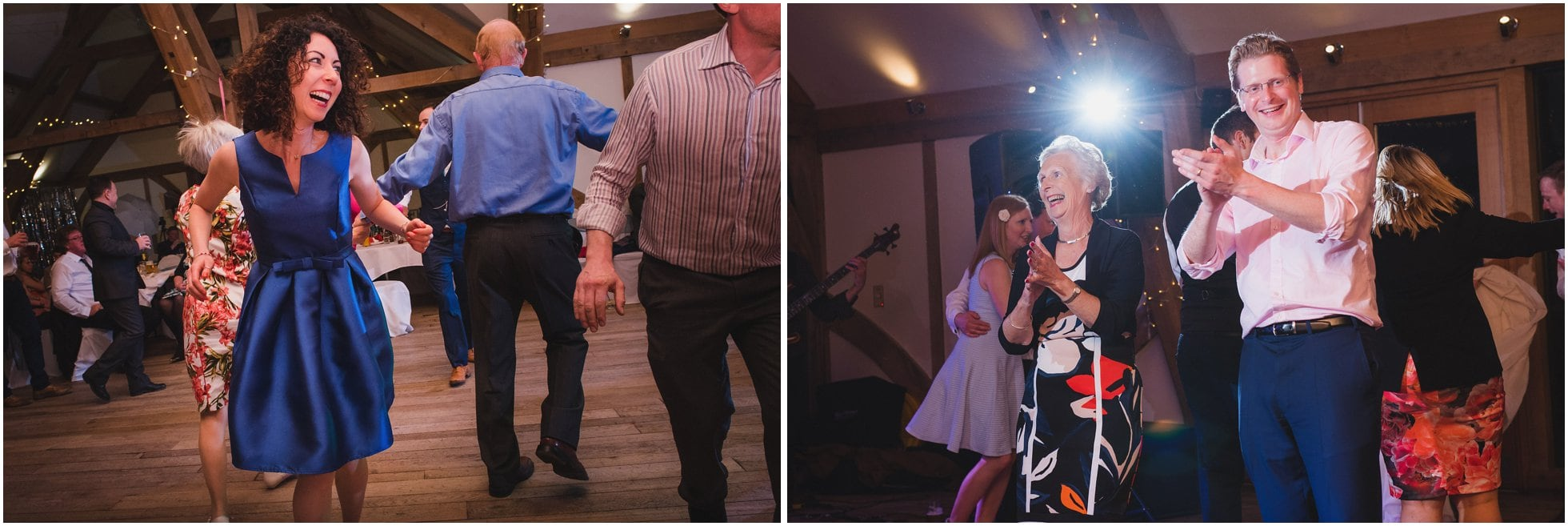 Ceilidh dancefloor wedding fun