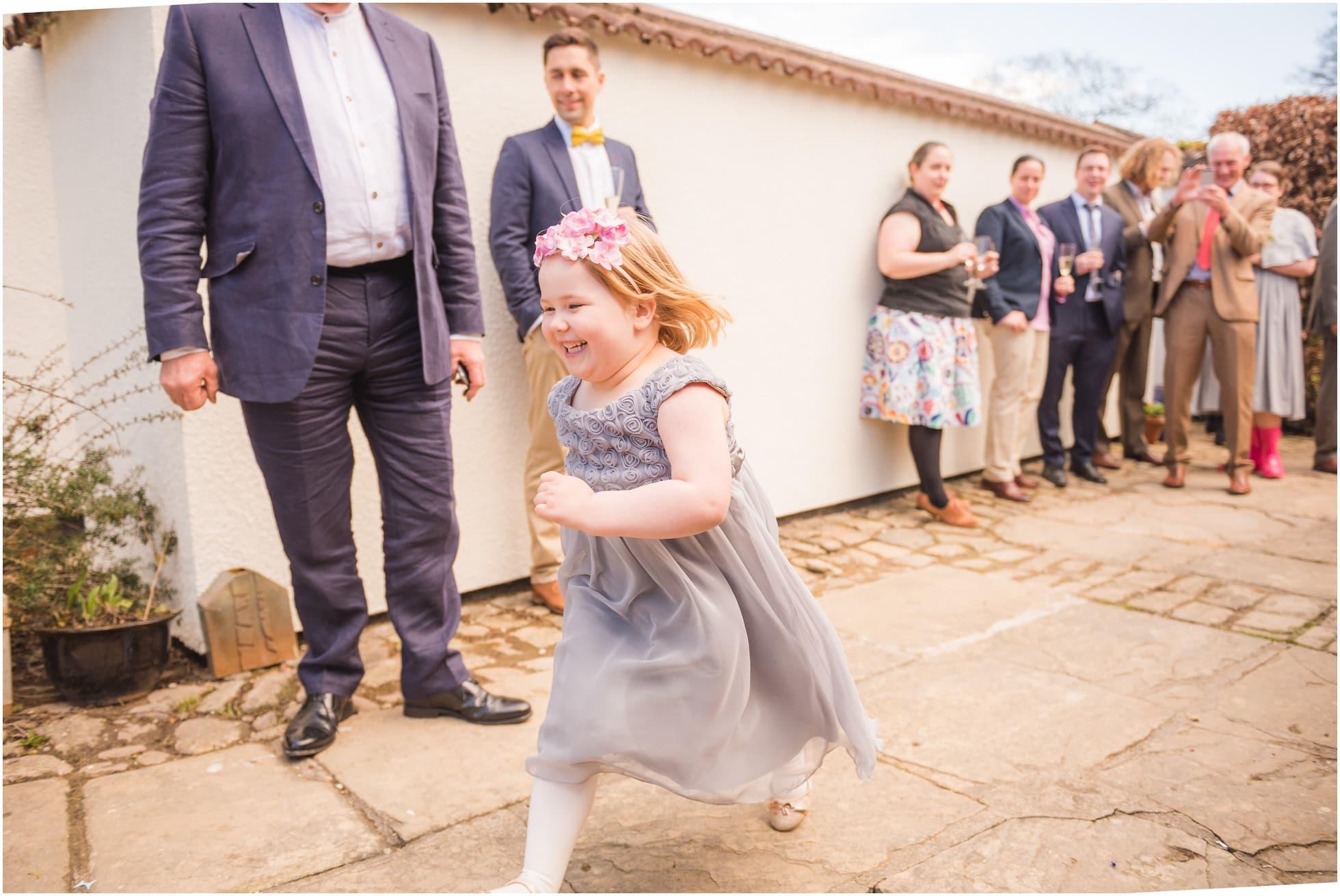 Run for the bride!