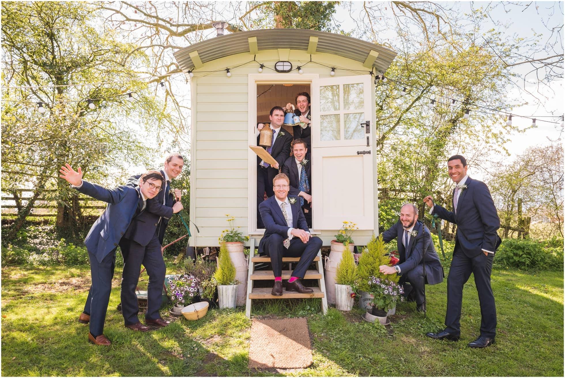 Gypsy caravan groomsmen madness